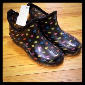 Capelli rain booties - NEVER USED!